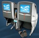 Business-class screens