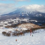 Popular ski resorts in Japan.