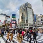 Neighborhood Shibuya, Tokyo, Japan.
