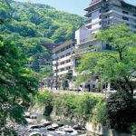 "Ryokan ""Hotel Okada"", city of Hakone."